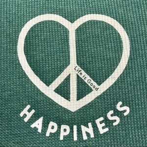 """LIFE IS GOOD """"Happiness"""" Thermal NWT (M) 😍"""